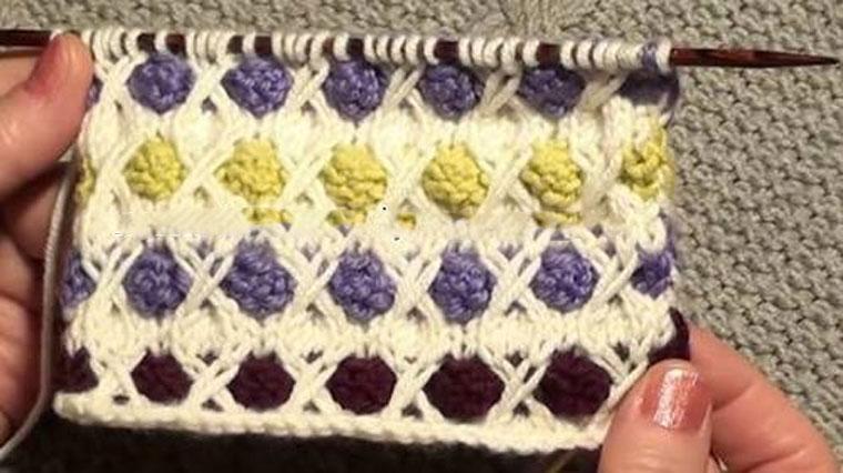 Diken tarlası motif yapımı