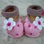 Bebek Patiği Örme Amugurimi