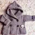 Kapüşonlu Örgü Bebek Yeleği Yapımı