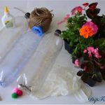Pet Şişeden Saksı Yapımı