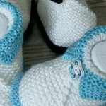 Şiş Örgüsü Bebek Patiği Yapımı - Videolu Anlatım