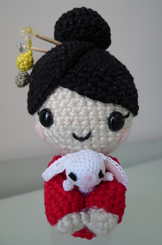 Amigurumi Örgü Şapkalı Kız Bebek Yapılışı ( Anlatımlı ) – Örgü ... | 500x331