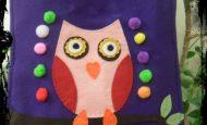 Baykuşlu Keçe Çanta Yapımı – Resimli ve Videolu Anlatım