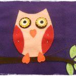 Baykuşlu Keçe Çanta Yapımı - Resimli ve Videolu Anlatım