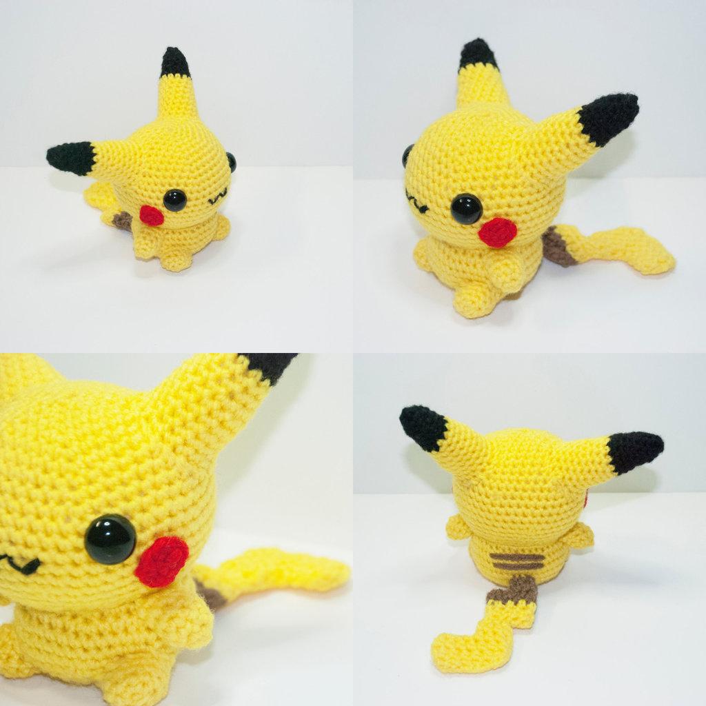 All About Pokemon Pikachu Doll Crochet Pattern Free Crochet