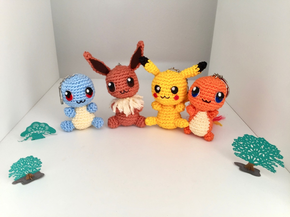 Photo of Amigurumi Pokemon Modelleri