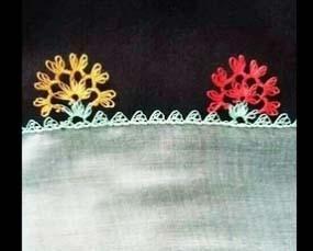 Photo of Çiçekli İğne Oyası Modeli Yapımı – Videolu Anlatım