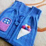Bebek Yeleği Modelleri - Resimli Anlatım