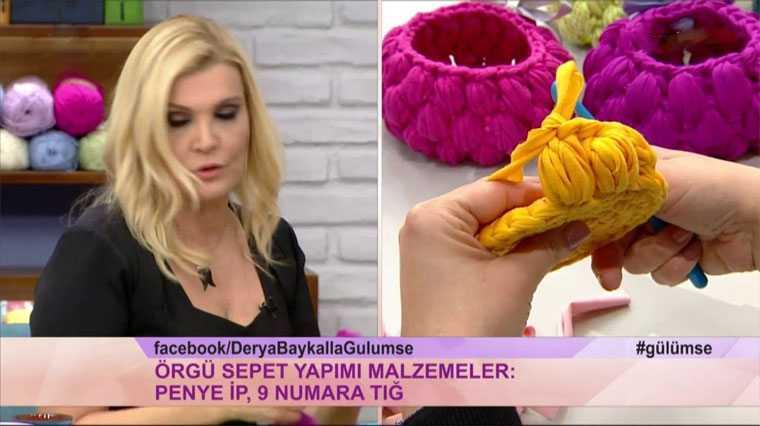 Photo of Derya Baykal Sepet Yapımı – Videolu Anlatım