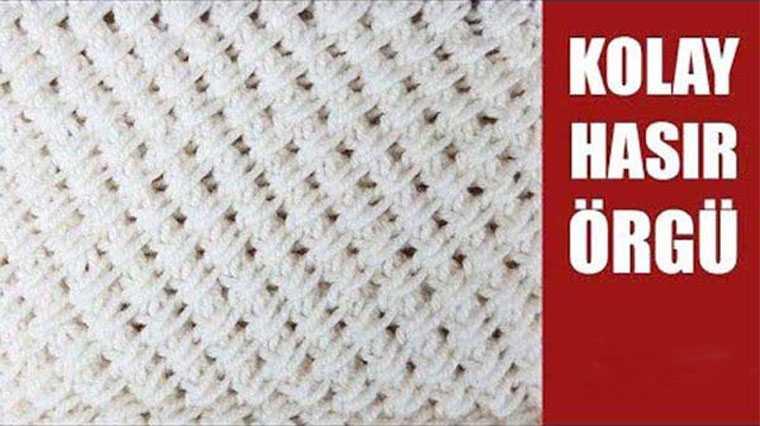 Örgü Bebek Battaniyesi Modelleri Yapılışları