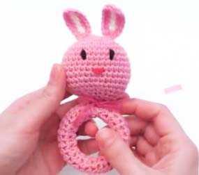 Amigurumi Tavşan Çıngırak Yapılışı - Videolu Anlatım