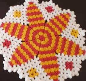 Yıldız Çiçeği Lif Modeli Yapılışı - Videolu Anlatım