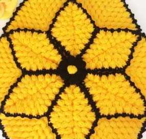 Yapraklı Altıgen Lif Modeli Yapılışı
