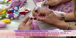 Derya Baykal Bebek Elbise Modelleri Yapılışı