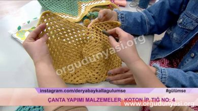 Derya Baykal Tığ İşi Çanta Yapımı
