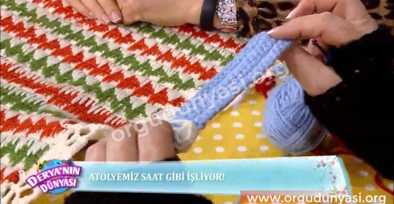 Derya Baykal Battaniye Modelleri Anlatımlı