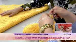 Derya Baykal Bebek Battaniyesi Örgü Modelleri