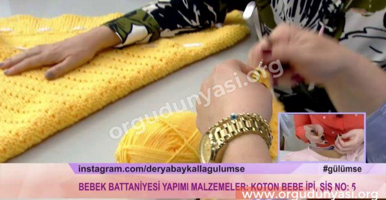 Derya Baykal Kolay Bebek Battaniyesi