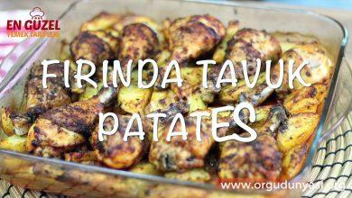 Photo of Fırında Kolay Tavuk Etli Patates Tarifi