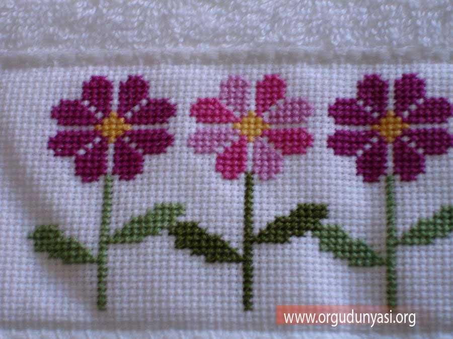 Kolay Etamin Çiçek Örnekleri