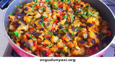 Photo of Kışlık Patlıcan Kavurması Tarifi